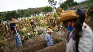 Muertes en América Latina por coronavirus superan las 200.000