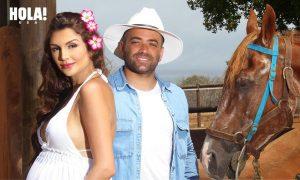 Nacho le da la «exclusiva» para presentar a su pareja e hija a una revista internacional
