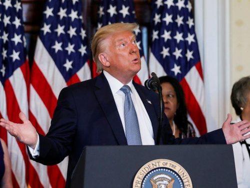 Trump sugiere que un fraude en las elecciones de noviembre podría llevar a repetirlas
