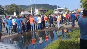Heridas dos personas en protesta por gasolina en Anzoátegui