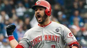 #MLB Suárez conecta cuadrangular en la victoria de Cincinnati Reds