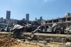 Ejército libanés halla 79 contenedores con productos «peligrosos» en puerto