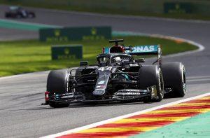 Hamilton acecha al «Kaiser» y Ferrari se pierde en el bosque de las Árdenas