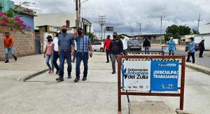 Trabajos de los Haticos fueron inspeccionados por el gobernador Omar Prieto