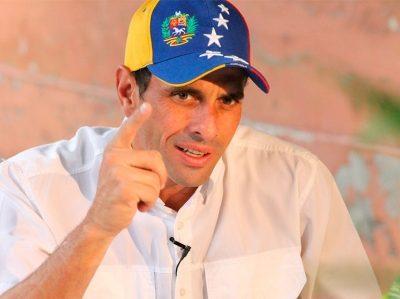 Capriles considera que la oposición debe participar en comicios regionales para «recuperar fuerzas»