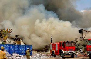 Incendio destruyó almacén de medicinas de la Unicef en el Congo