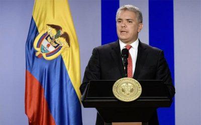 Duque dice que Brasil y Colombia siguen unidos por la democracia en Venezuela