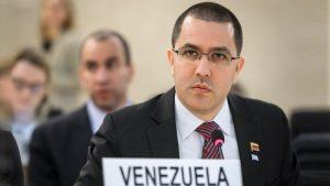 Canciller venezolano Jorge Arreaza denuncia a administración Trump por amparar hechos de corrupción en estatal petrolera