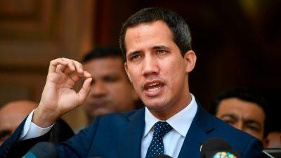 Guaidó se reúne con director del PMA y agradece comida para niños venezolanos