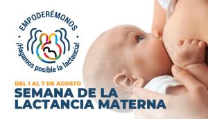 Inicia la semana mundial de la Lactancia Materna