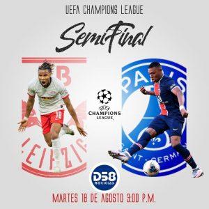 Leipzig y Paris Saint-Germain se juegan el pase a la gran final