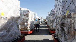 Llegan a Venezuela 73 TM de insumos médicos y material tecnológico donados por España y Portugal