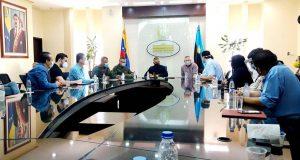 Gobernador Omar Prieto encabezó reunión con representantes de la Cámara Venezolana de la Industria de Alimentos y Supermercados