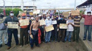 Adultos mayores en Maracaibo exigen pensiones dignas