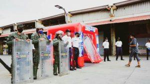 Mercado «Las Pulgas» inició actividades luego de tres meses de inactividad