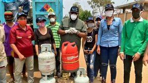 Municipios Guajira y Colón fueron beneficiados con la distribución de 2 mil bombonas de gas Doméstico