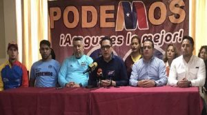 Partido Podemos le dice sí a las parlamentarias
