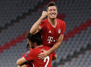 El Bayern no deja dudas y se pone en cuartos con doblete de Lewandowski