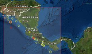 Costa Rica registra un sismo de magnitud 6,2 en su costa del Pacífico
