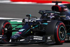 Hamilton lidera salida en el GP de Gran Bretaña de Fórmula 1