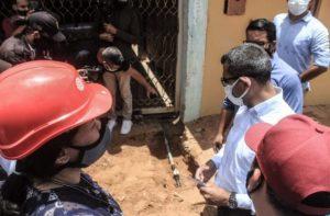 Francisco Eugenio Bustamante recuperó gas doméstico luego de diez años sin el servicio