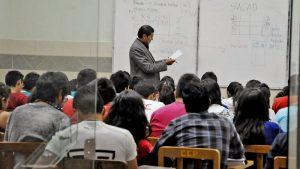 Estudiantes Universitarios le dicen no a las clases virtuales