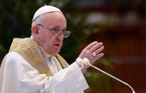 Papa Francisco instó «A regenerar la sociedad y no volver a la llamada normalidad»