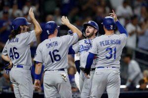 Dodgers de los Ángeles son los primeros clasificados a la postemporada de las Grandes Ligas