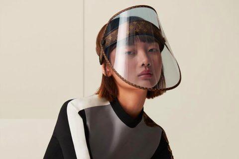 Louis Vuitton presenta protectores faciales en 1000 dólares