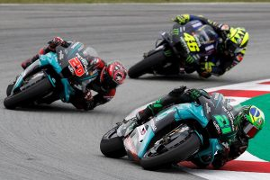 #MotoGP Tercera victoria de Quartararo que recupera el liderato