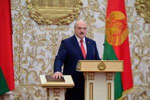 La UE declara que Lukashenko no es el presidente legítimo de Bielorrusia