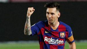 750 millones de euros por 5 años sería el contrato que prepara el Manchester City a  Messi