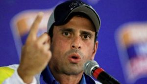 Capriles rechaza las legislativas en Venezuela si no hay observación de la UE