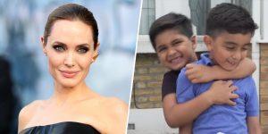 Angelina Jolie sorprendió con un gran donativo a unos pequeños vendedores de limonada