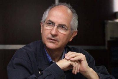 Ledezma se muestra pesimista ante negociaciones con el gobierno