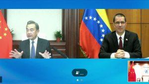 Cancilleres de Venezuela y China sostuvieron reunión y reforzaron alianza entre ambos estados