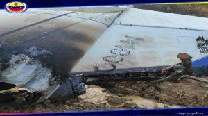 Venezuela inutiliza «aeronave del narcotráfico» cerca de límite con Colombia