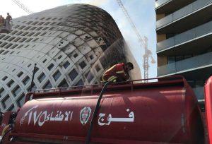 «Inconcebible»: un nuevo incendio conmociona a los vecinos de Beirut