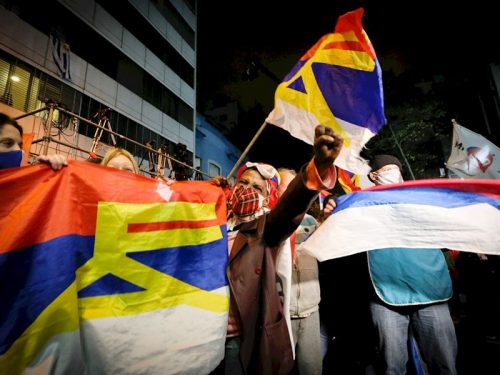 La izquierda seguirá gobernando Montevideo y el resto de Uruguay es «blanco»