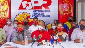 50 candidatos para la Asamblea Nacional presentó la Alternativa Popular Revolucionaria en el Zulia