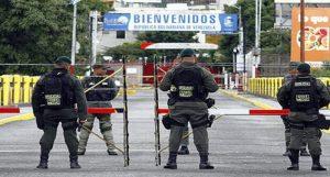 Unos 500 venezolanos en Colombia intentan pasar a la fuerza la frontera