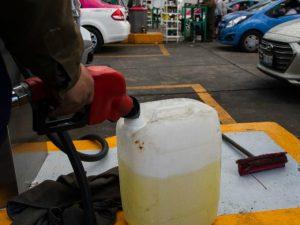 Detenido presunto vendedor de gasolina en el sector la Pomona