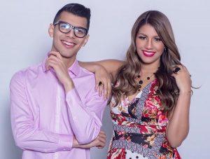 Albert Vielma y Sharon Naterano se reinventan con «Hablemos de Televisión» vía Zoom