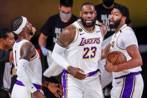 Angeles Lakers, con James, 10 años después vuelven a las finales del Oeste
