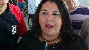 Molly González denunció que Clotilde Navarro usa símbolos de LUZ en actos proselitistas