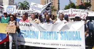 Movimiento Libertad Sindical y Gremial rechazó la violencia contra las protestas y exigen renuncia de Maduro