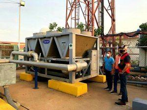 CAMLB fue climatizado con 300 toneladas de aire acondicionado