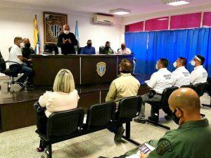 Para fortalecer el combate a las mafias dedicadas a la extorsión   y el sicariato en la región organismos  coordinan trabajo policial
