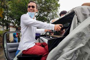 Pianista esparce «desinfección musical» contra COVID-19 en oeste de Venezuela