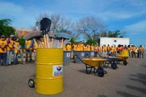 Plan de limpieza fue activado en Santa Rita por llegada de temporada de lluvia